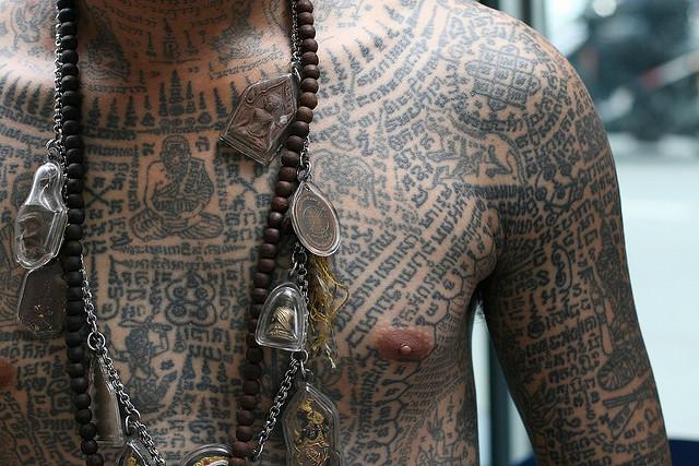 Татуировка: от тайного смысла до обыденности