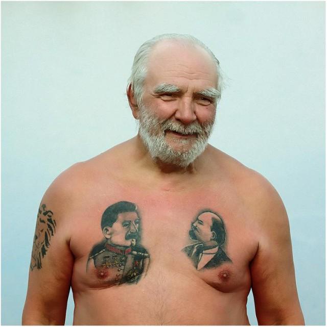 Татуировки с изображением Ленина3