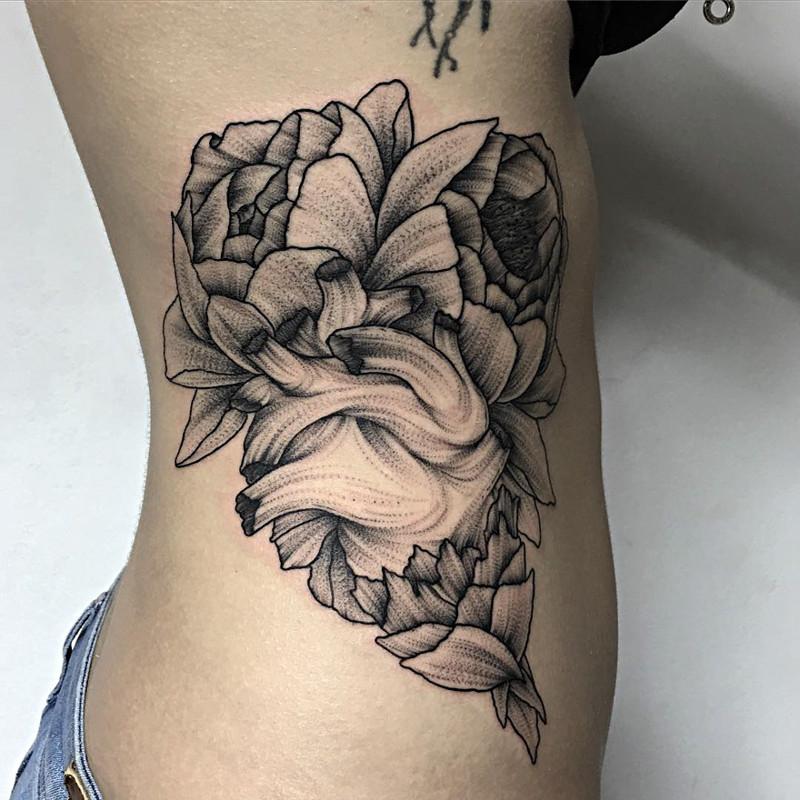 мрачное очарование татуировок блэкворк12