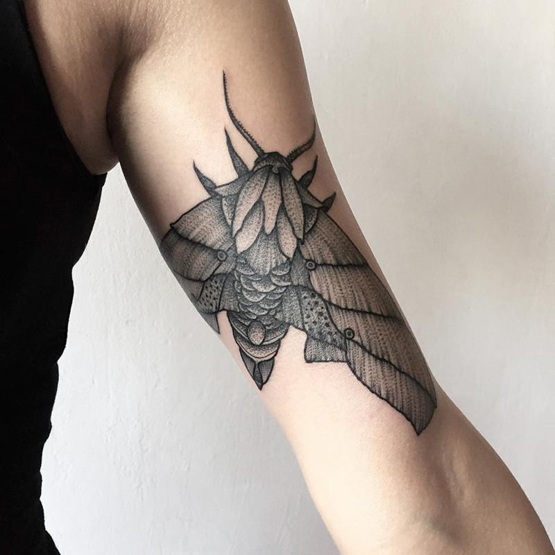 мрачное очарование татуировок блэкворк28