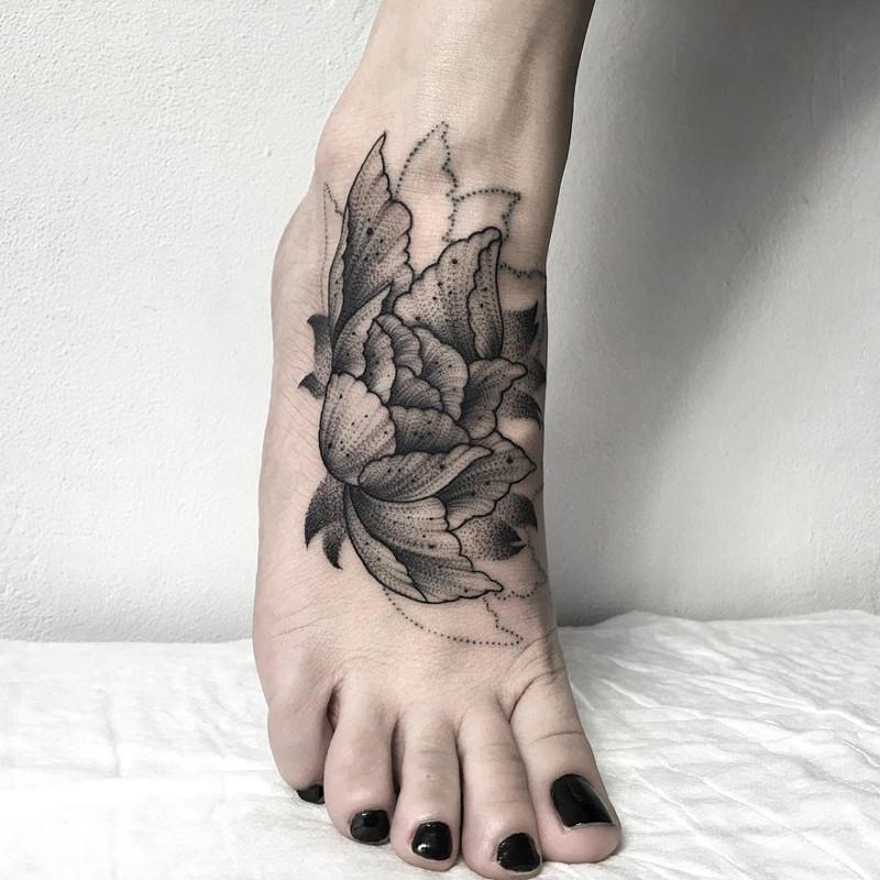 мрачное очарование татуировок блэкворк31