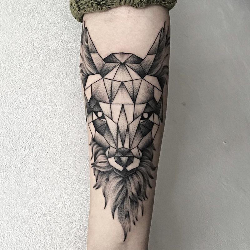 мрачное очарование татуировок блэкворк34