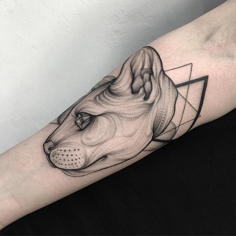 мрачное очарование татуировок блэкворк39