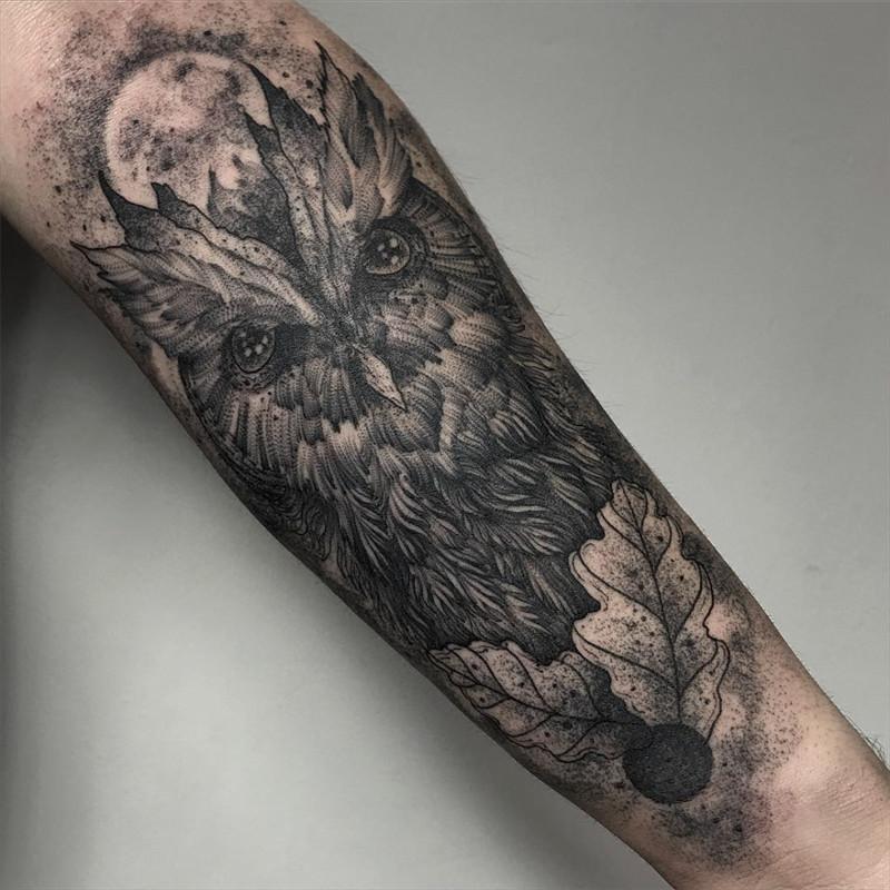 мрачное очарование татуировок блэкворк49
