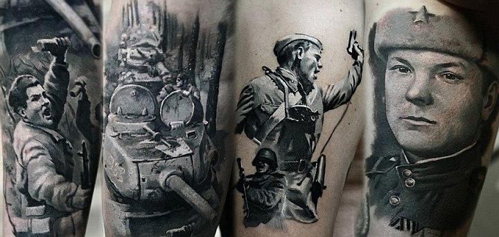 Патриотические татуировки