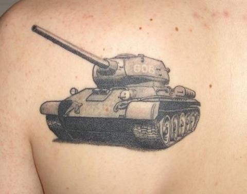 патриотические тату