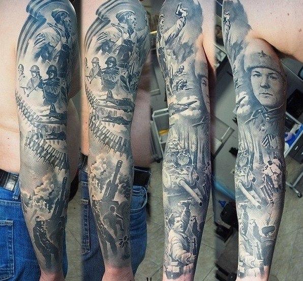 патриотические тату07
