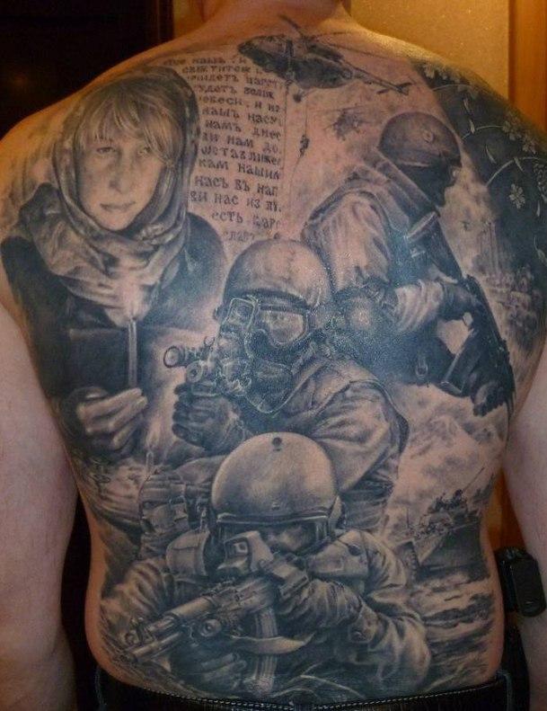 патриотические тату09