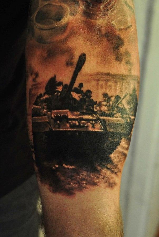 патриотические тату12