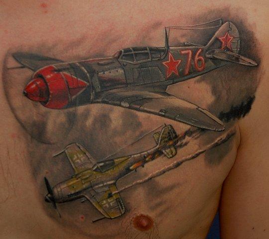 патриотические тату14